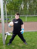 Goalkeeper training: Looking after tomorrow's players at VfR Bottrop-Ebel. © Karl-Heinz Blomannn